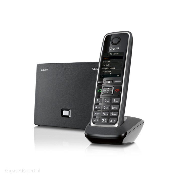 Telefony IP bezprzewodowe: Gigaset C530IP