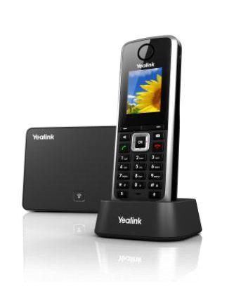 Telefony IP bezprzewodowe: Yealink W52P DECT IP